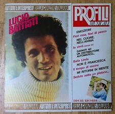 LUCIO BATTISTI Profili Musicali LP/FOC
