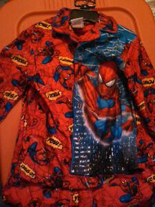 Nachtwäsche Mode für Jungen Spider Sense Spider-Man Kids Boys Pajama Sleepwear NWT RED Sizes 3,4,5,6