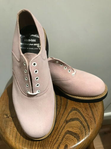 Shoes Rockabilly Suede New Size 5 Pink Gibson wITFqUI