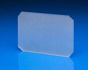 4x5 Ground Glass with corners clipped, free shipping