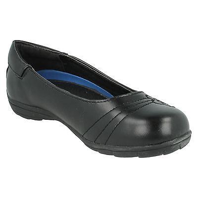Ausverkauf Spot on H2377 Mädchen schwarz Synthetisch ohne Bügel Schulschuhe