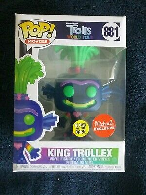 mondo TOUR-King carrello FUNKO POP Figura in vinile #881 Troll