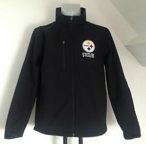 pretty nice 1b45f b5022 Details about PITTSBURGH STEELERS NFL SOFT SHELL JACKET BY CARL BANKS SIZE  MEN'S XXL BRAND NEW