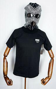Dgk Skateboards T-Shirt Tee All Star Mini Logo Black in S Dirty Ghetto Kids