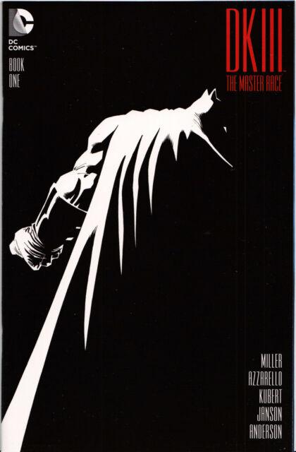 THE MASTER RACE #1,2,3,4,5,6,7,8,9 Exclusive /& Variant Comics DARK KNIGHT III