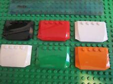 Wedge 4 x 6 x 2//3 Triple Curve LEGO 52031 DARK RED x 1 J230