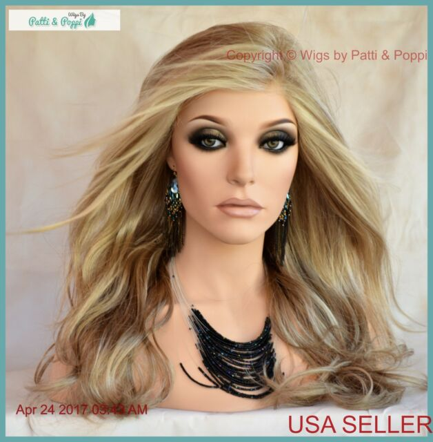 Miles Of Style Wig Long Layers Wavy Monofilament Part By Raquel