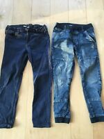 Bukser, Jeans bukser, H&M, str. 134, 2 par