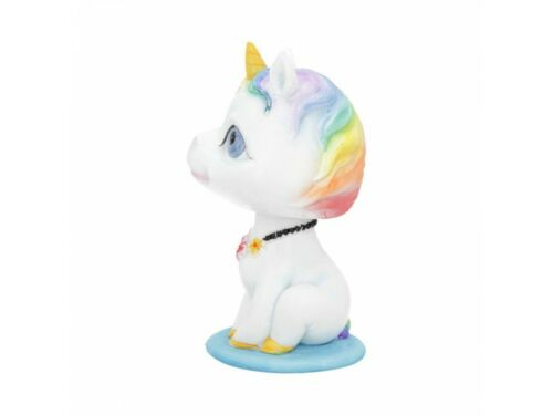 Unicorn Bobble Head Bobicorn Small Figure Ornament Toy New /& Boxed