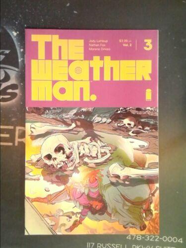 VF//NM 9.0 Image, 2019 Weather Man #3 8148