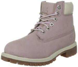 low priced 04457 48c2e Details zu Timberland Schuhe Mädchen 6IN CLASSIC BOOT 34792 Lavendar/Rosa  Waterproof Nubuk
