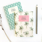 ICONIC A6 Cute Mini Weekly Planner Scheduler Journal Diary Organizer / 27 Weeks