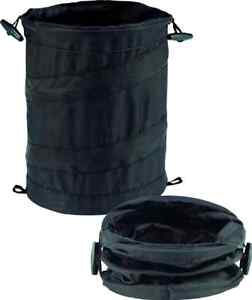 camping outdoor portable small pop up trash can bin storage hiking travel part ebay. Black Bedroom Furniture Sets. Home Design Ideas