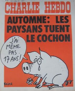 Charlie-View-No-256-Octobre-1975-Reiser-Autumn-Fall-the-Peasants-Kill-the-Pig