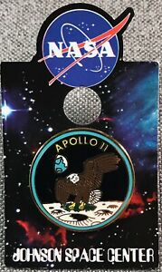 NASA-APOLLO-11-MISSION-PIN-Official-Authentic-SPACE-1in