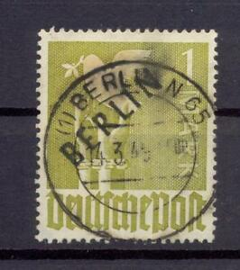 Berlin-17-Schwarzaufdruck-1-Mark-gestempelt-geprueft-Schlegel-vs328