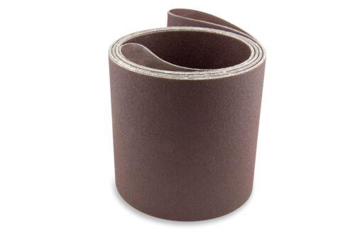 2 Pack 6 X 186 Inch 320 Grit Aluminum Oxide Multipurpose Sanding Belts