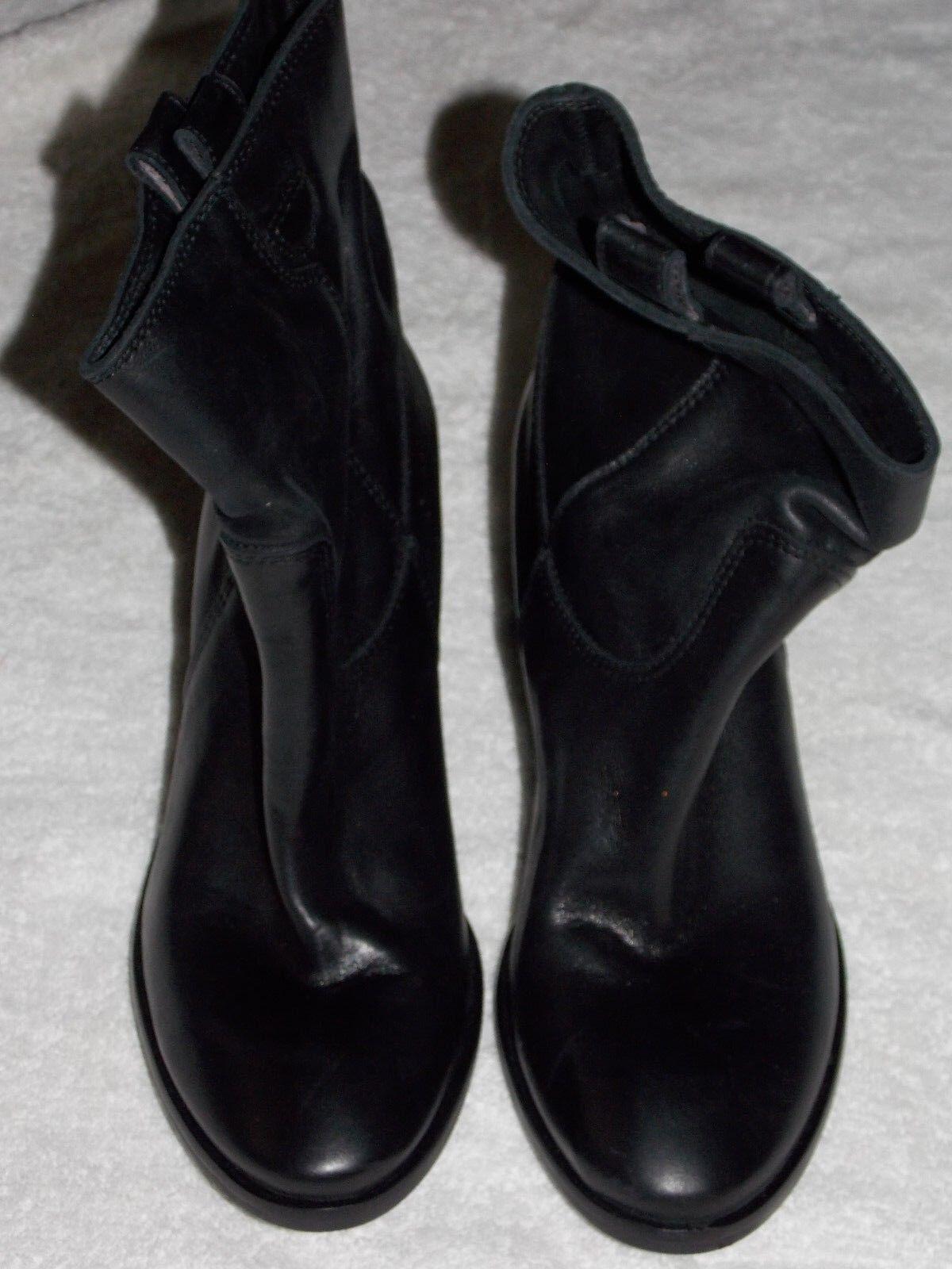 Charles David resbalón en Negro botas al Tobillo Tobillo Tobillo 8 para mujeres Usado  más descuento