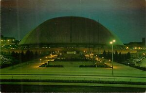 Civic-Arena-Pittsburgh-Pennsylvania-Pa-night-view-Postcard