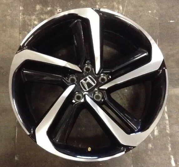 Honda Factory Rims >> 19 Honda Accord Sport 2018 Factory Oem Rim Wheel Black Machined 96157 64127