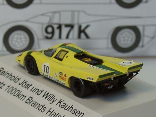 1:87 Brands Hatch 1971-16015 Brekina Porsche 917 K USDAU #10
