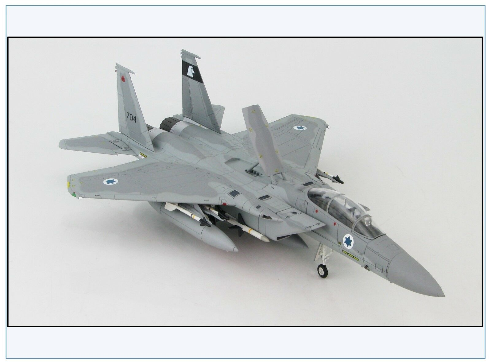 Ha4505 f-15b Eagle  BAZ  Israël Air Force  704, 1978, HOBBY MASTER 1 72 Nouveau &