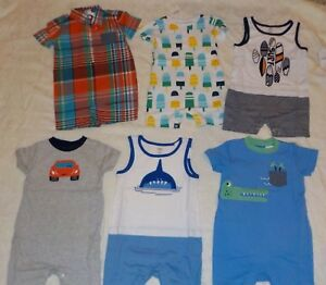 New Nwt Lot Size 12 18 Months Baby Boys Clothes Summer Shorts Sets Gymboree Ebay