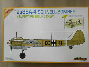 Junkers-Ju-88-A-4-034-Schnellbomber-034-Lw-Ground-C-Dragon-Scale-1-48-Kit-5565