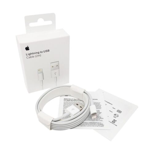 Original de Apple Lightning 2m cable de carga cable de datos md819zm//a para iPad mini 4
