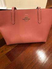 57a4fc5187 item 4 NWT Coach F31535 Leather Avenue Tote Handbag Light Pink Oxblood $350  -NWT Coach F31535 Leather Avenue Tote Handbag Light Pink Oxblood $350