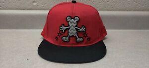 Parques-de-Disney-Mickey-Mouse-1928-Rojo-Y-Negro-Adulto-Gorra-De-Beisbol-Cap-Hat