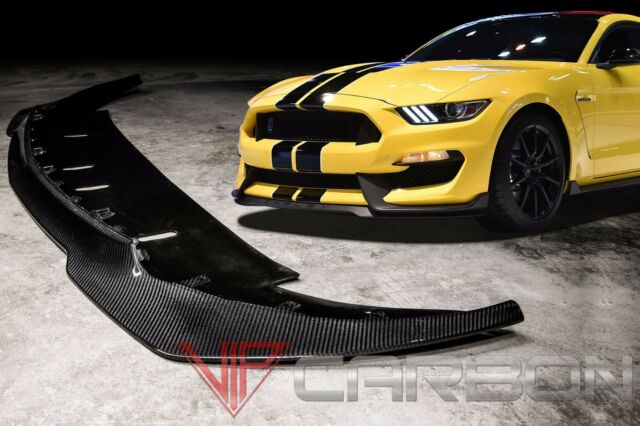 VIPC Ford Mustang Shelby GT350 2015-2016 Carbon Fiber front splitter Replica
