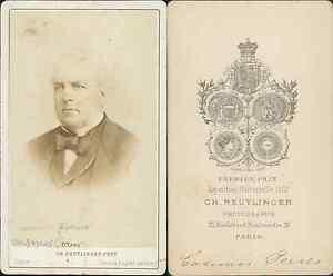 Casimir Perier Vintage CDV Albumen Carte De Visite