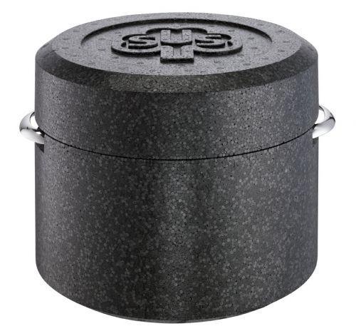 Schulte rives casserole avec thermobox thermotopf kochkiste 20 cm en acier inoxydable 3,5 L