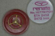 Balance complete ETA 2452 2472 INC bilanciere completo 721 NOS