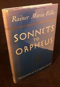 Sonnets-to-Orpheus-Rainer-Maria-Rilke-True-First-1st-1st-US-Edition-1942