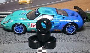 034-XPG-034-SLOT-CAR-TIRES-2pr-XPG-20124LM-fits-SCALEXTRIC-Ford-GT-R-C3136-amp-C3088