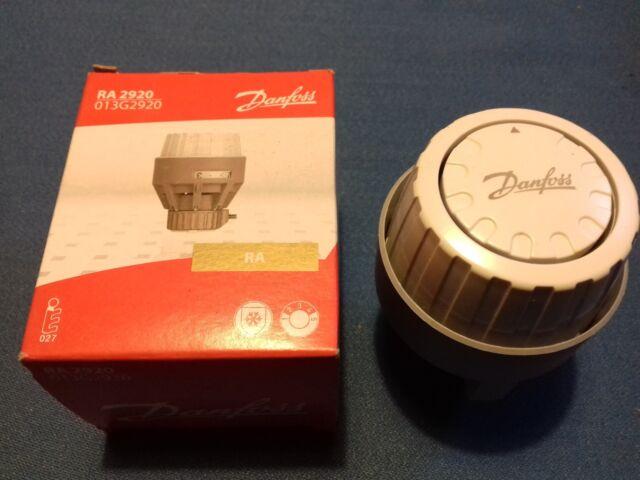 Danfoss 013g292000 White Ra2920 Thermostatic Radiator Valve Fixed Ebay