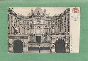 BRUSSELS-BELGIUM-Vintage-Unused-100-Year-Old-Postcard-PALAIS-COMTE-de-FLANDRE