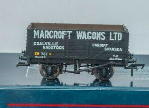 Bachmann-37-100-OO-Gauge-7-Plank-open-Wagon-039-Marcroft-Wagons-Ltd-039-Club-Wagon