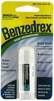 3 Pack - Benzedrex Inhaler Nasal Congestion Relief Sinus Cold Allergies 1 Each on sale