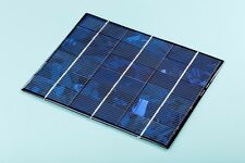 9V 450mA 4W Fast Charging Mini SOLAR PANEL CelI IDEAL FOR BATTERY 8v & Below