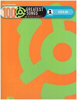 100 Rock & Roll Songs Sheet Music For Violin Beatles, Elvis, Van Morrison