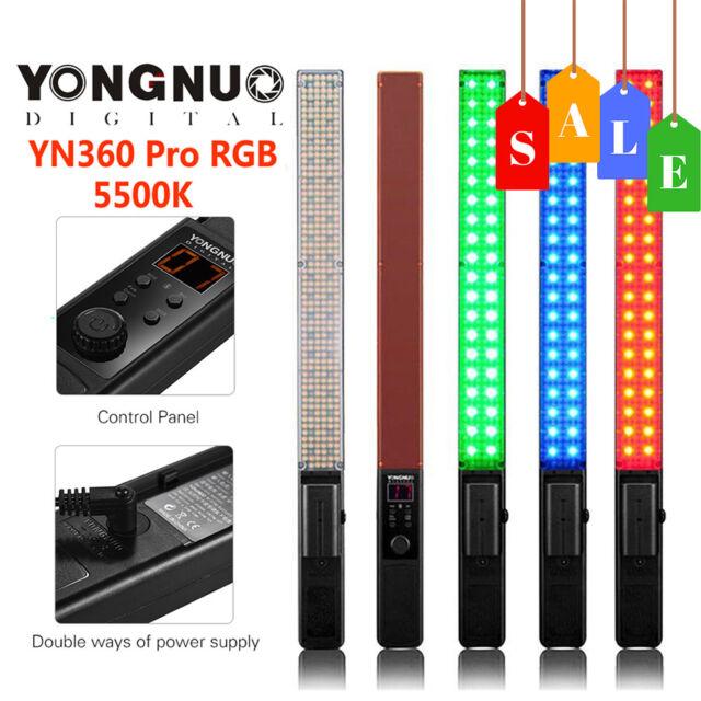 YONGNUO YN360 LED Video Light Ice Light 5500K Full Color CRI95+ For Studio Cams