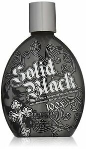 Millennium-Tanning-New-Solid-Black-Bronzer-Tanning-Bed-Lotion-100x-13-5-Ounce