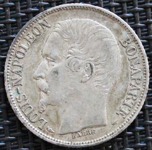 FRANCE-1-FRANC-NAPOLEON-1852-A