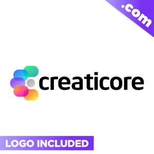 Creaticore-com-Cool-brandable-domain-name-for-sale-Godaddy-PREMIUM-CREATIVE