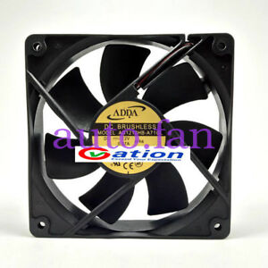 Pour-Adda-Fan-DC-Brushless-Model-AD1212HB-A71GL-12-V-0-37-A-2-Pin-Power