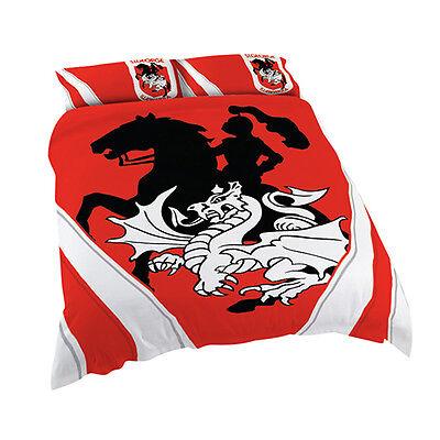 Gold Coast Titans NRL DOUBLE Bed Quilt Doona Duvet Cover Set NEW 2019