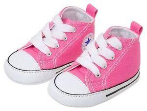 Baby White Converse Pram Shoes